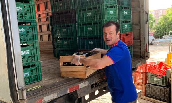 Κορονοϊός: Δωρεά 10 τόνων τρόφιμα από τον Ντούνγκα σε φιλανθρωπικά ιδρύματα