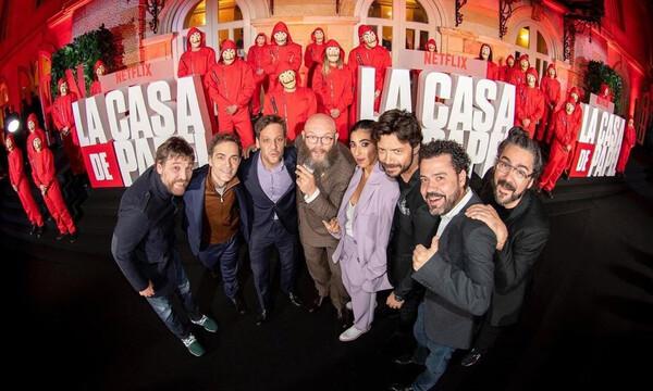 La Casa de Papel: Έτσι είδαν την πρεμιέρα οι πρωταγωνιστές σε καραντίνα (photos)