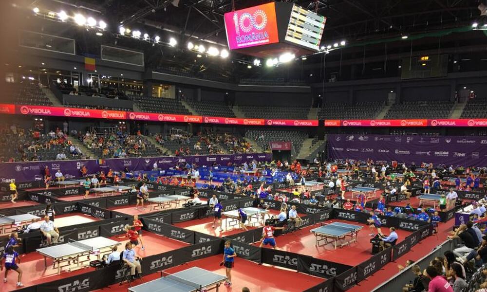 Αναβλήθηκε και το Ευρωπαϊκό πρωτάθλημα νέων στην επιτραπέζια αντισφαίριση