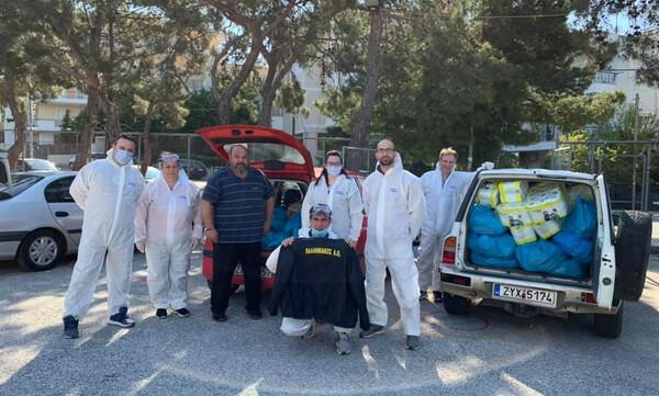 Παλληνιακός: Μοίρασε τρόφιμά σε ευπαθείς ομάδες (photos)
