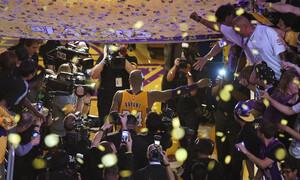 Κόμπι Μπράιαντ: Το «Mamba Out» και οι 60 πόντοι στον τελευταίο αγώνα του (video+photos)