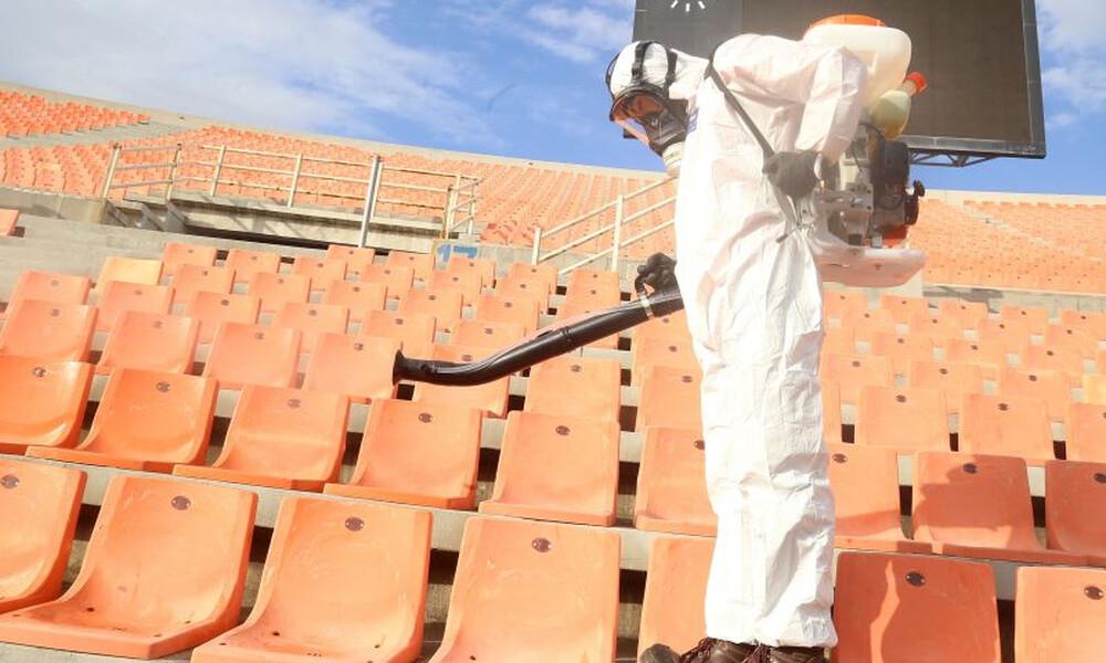 Κορονοϊός: «Χωρίς κόσμο όλα τα γήπεδα ως και 18 μήνες»
