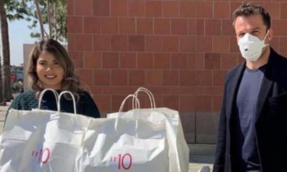 Κορονοϊός: Ο Ντελ Πιέρο μοίρασε τρόφιμα σε νοσοκομείο για παιδιά