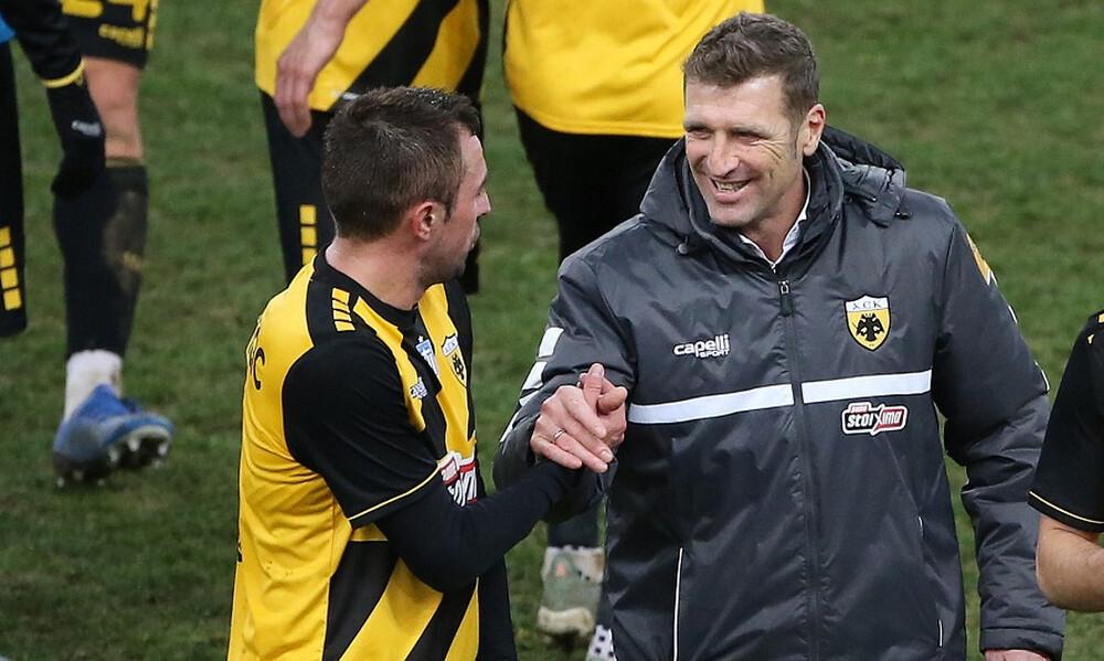 Κρίστισιτς: «Με βοήθησε πολύ ο Καρέρα – Μπορεί η ΑΕΚ το πρωτάθλημα»