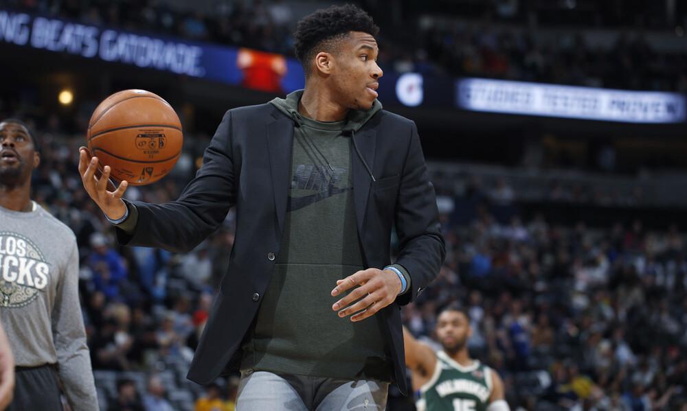NBA: Η «απόρριψη» του Αντετοκούνμπο από τον γιο του (photos)