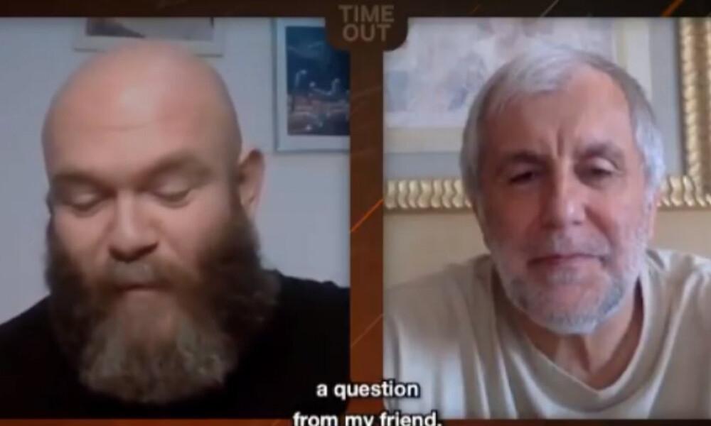 Κορονοϊός: Αγνώριστος ο «ναυαγός» Ομπράντοβιτς (video)
