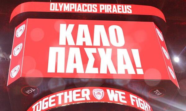 Οι ευχές του Ολυμπιακού για το Πάσχα (photo)