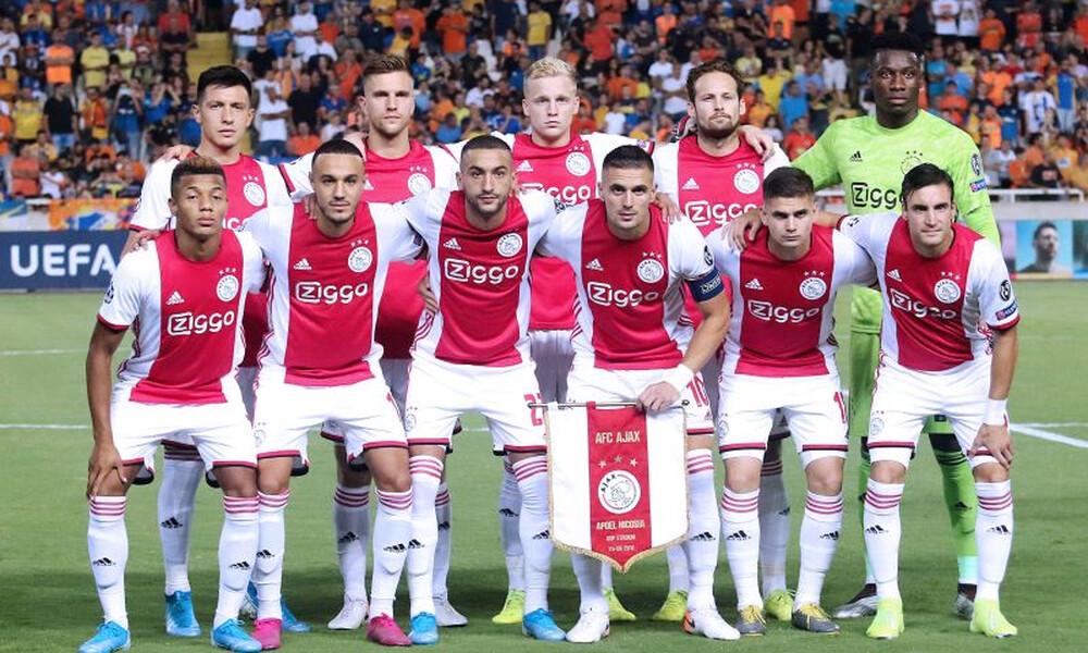 Ο Άγιαξ ενημέρωσε για το οριστικό «λουκέτο» στο ολλανδικό πρωτάθλημα