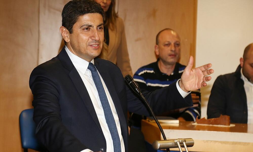 Αυγενάκης: «Λύνουμε τα χέρια των ομοσπονδιών»