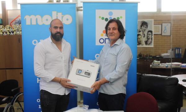 Κορονοϊός: Συγκινητική προσφορά από την ΟΣΕΚΑ