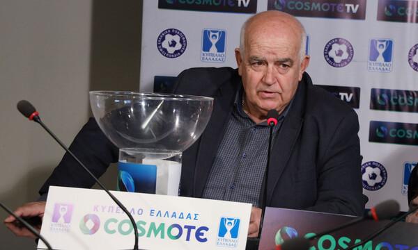 Γαβριηλίδης: «Με κλήρωση οι Κυπελλούχοι των ΕΠΣ – Τι θα γίνει με τη Γ' Εθνική»