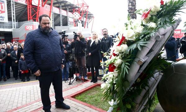 «Ο βανδαλισμός στο μνημείο της Θύρας 7 επίθεση κατά Ολυμπιακού και Μαρινάκη»