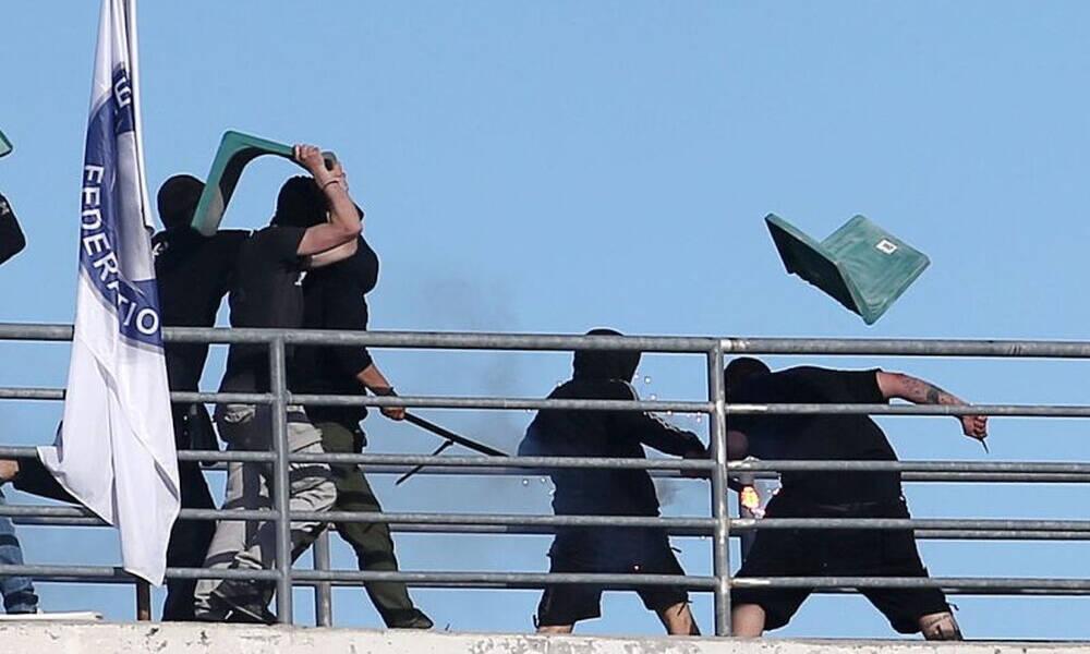 ΠΑΟΚ-ΑΕΚ: Ο τελικός της ντροπής στο «Πανθεσσαλικό» (videos+photos)