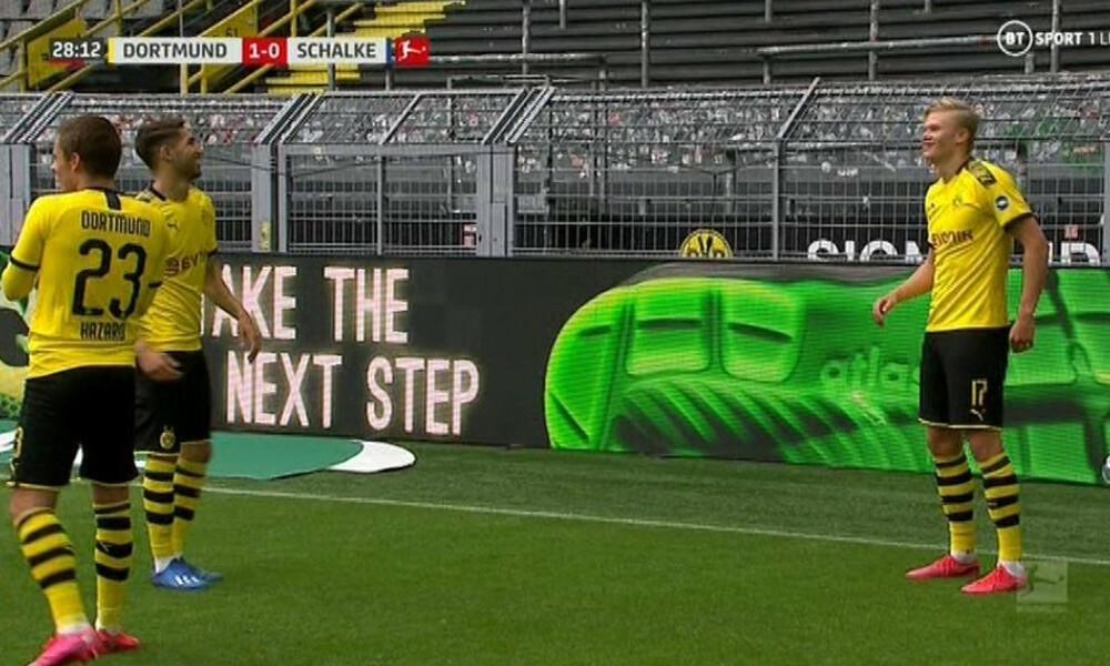 Bundesliga: Πρώτο γκολ δια ποδός… Χάαλαντ (video)