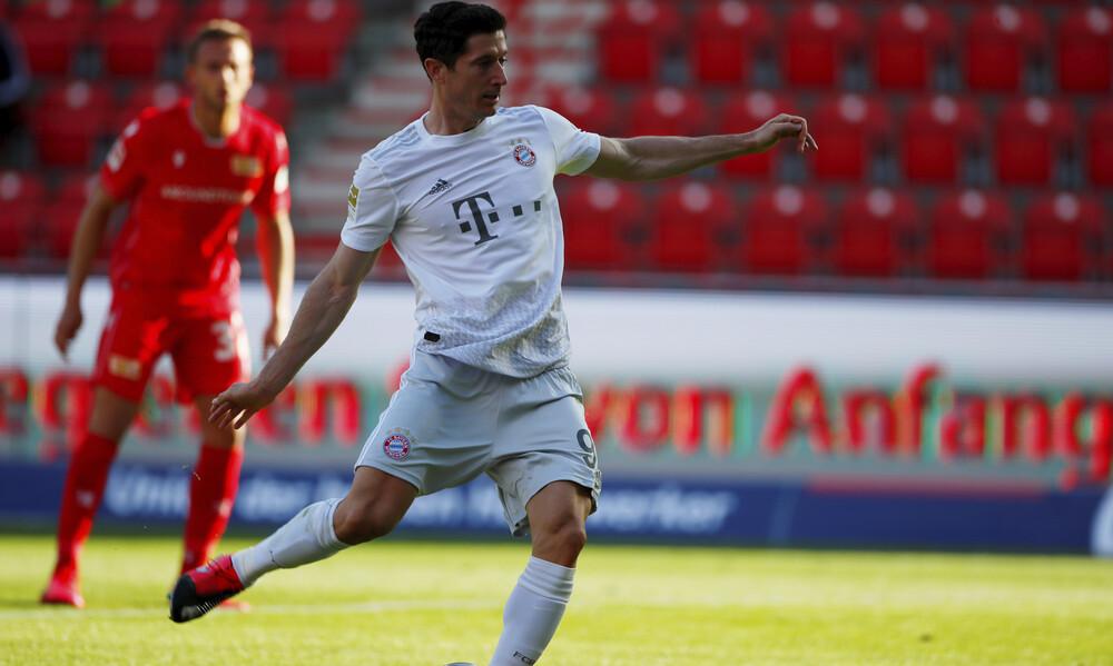 Bundesliga: Καθάρισε ο Λεβαντόφσκι και βλέπει τίτλο η Μπάγερν Μονάχου (videos)