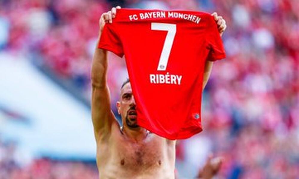 Ο Ριμπερί θυμήθηκε το φινάλε της καριέρας του στη Μπάγερν Μονάχου (photo+video)