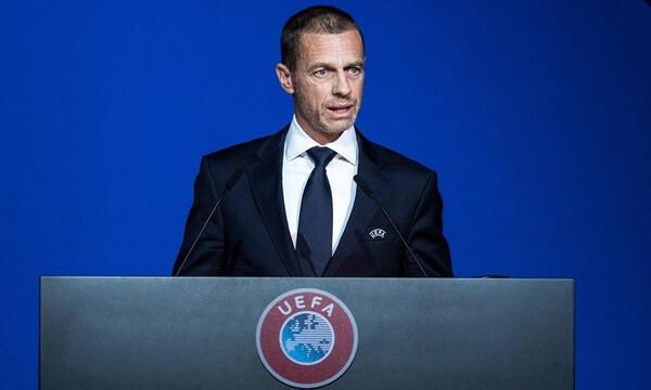 Τσέφεριν: «Πρόταση όχι απόφαση για φινάλε των πρωταθλημάτων στις 3 Αυγούστου»