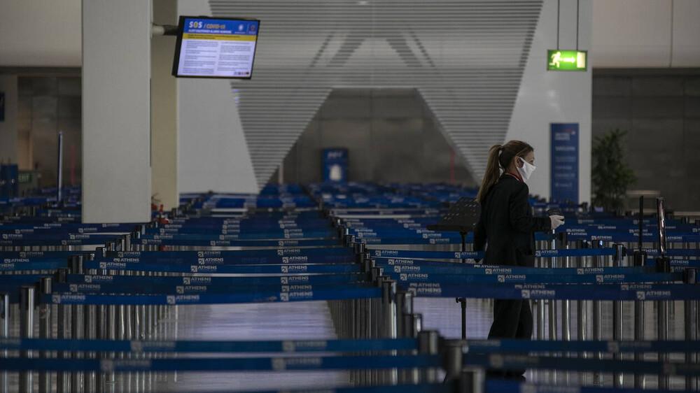 Κατακόρυφη πτώση 71% στις ταξιδιωτικές εισπράξεις Μαρτίου