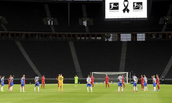 Bundesliga: Ενός λεπτού σιγή στο ντέρμπι του Βερολίνου (video)