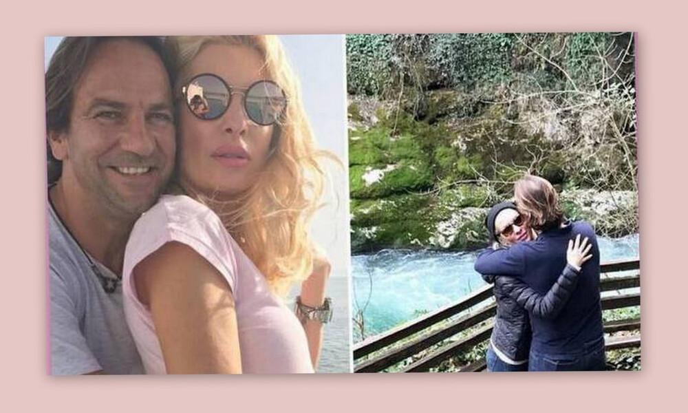Ελένη Μενεγάκη: Γιατί έσπασε την «καραντίνα»; Εσπευσμένα στην Άνδρο με τον Μάκη της! (Photos-Video)