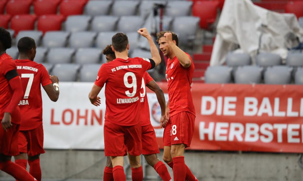 Bundesliga: «Καθάρισε» η Μπάγερν (photos+video)