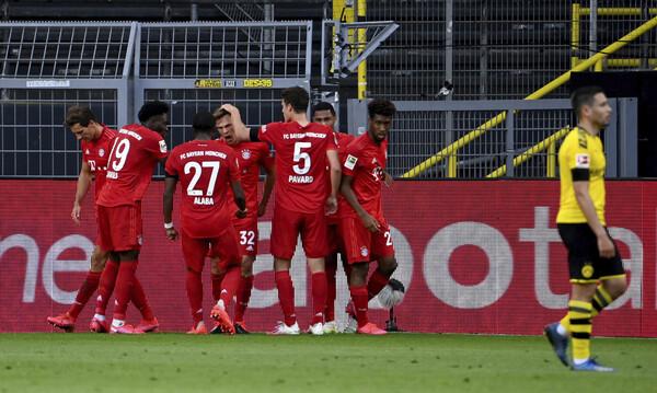 Ντόρτμουντ-Μπάγερν 0-1: «Κλείδωσε» τον τίτλο με «φωνές» (videos+photos)