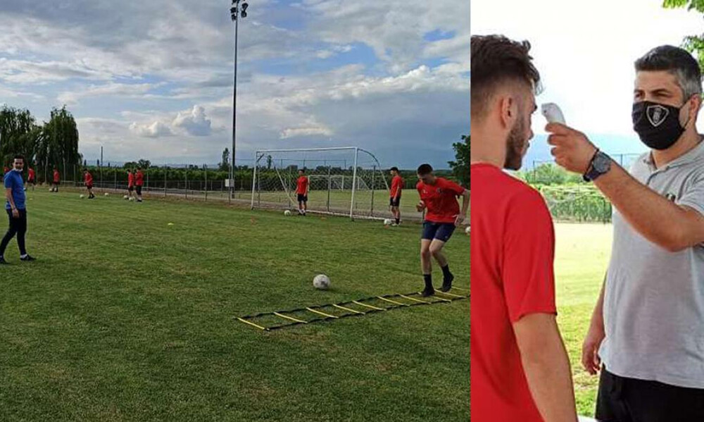 Βέροια: Επέστρεψαν στις προπονήσεις οι νεαροί ποδοσφαιριστές