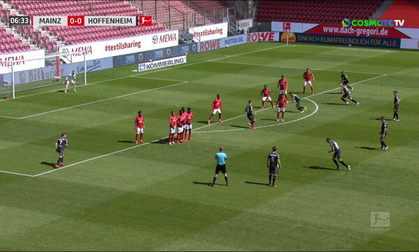 Μάιντς-Χόφενχαϊμ 0-1: Τα highlights του αγώνα (video)