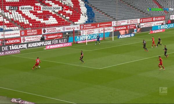 Μπάγερν Μονάχου-Φορτούνα Ντίσελντορφ 5-0: Τα highlights του αγώνα (video)