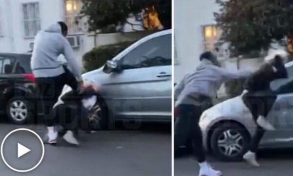 Ο Τζέι Αρ Σμιθ… πλάκωσε στο ξύλο άνδρα που έσπασε το παράθυρό του (video)