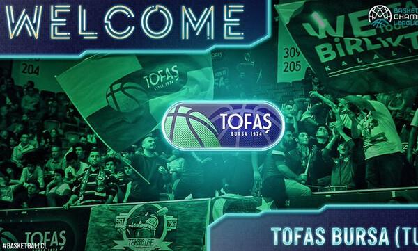 Η Τόφας επέλεξε το Basketball Champions League της FIBA