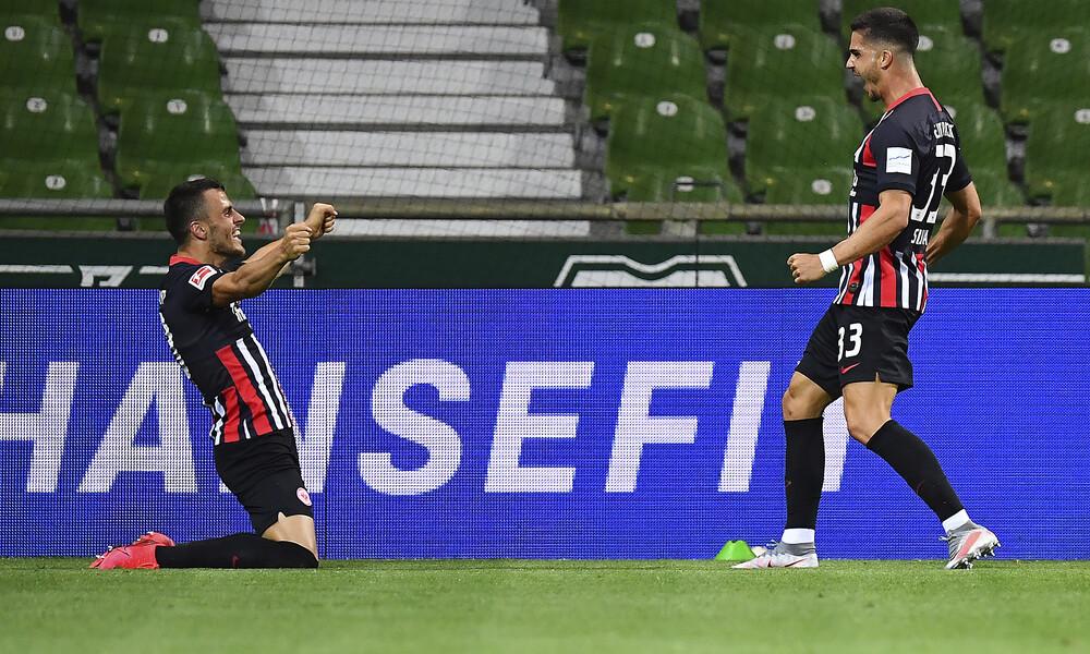Bundesliga: Πέρασε από τη Βρέμη και ανασαίνει η Άιντραχτ με «τρομερό» Ιλσάνκερ (videos)