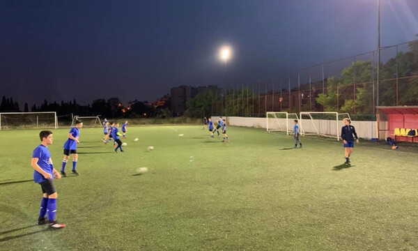 Απόλλων Σμύρνης: Συνεχίζονται οι προπονήσεις στην ακαδημία ποδοσφαίρου