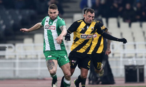 LIVE ΑΕΚ – Παναθηναϊκός 1-1 (τελικό)