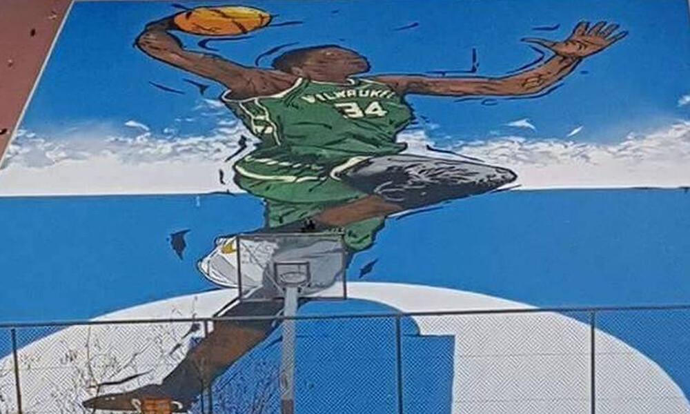 Το «We can't breathe» στο γήπεδο του Γιάννη Αντεντοκούνμπο (photo)
