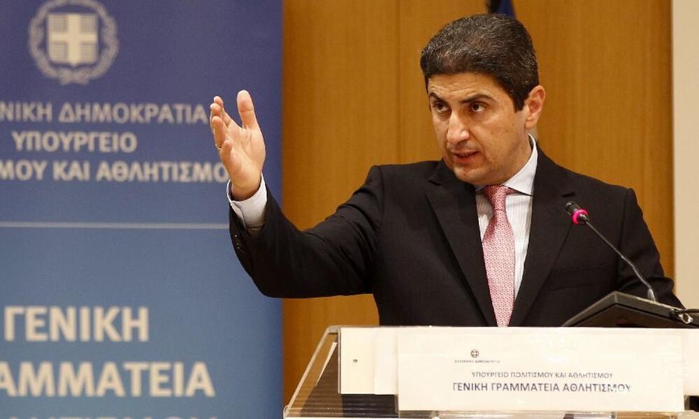 Αυγενάκης: «Μόνο τα νόμιμα σωματεία στις εκλογές»