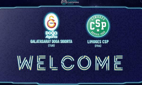 Basketball Champions League: Συνεχίζεται η ενίσχυση με Λιμόζ και Γαλατασαράι (photos)