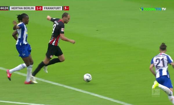 Χέρτα Βερολίνου-Αϊντραχτ Φρανκφούρτης: Άλλο VAR είδε ο διαιτητής...