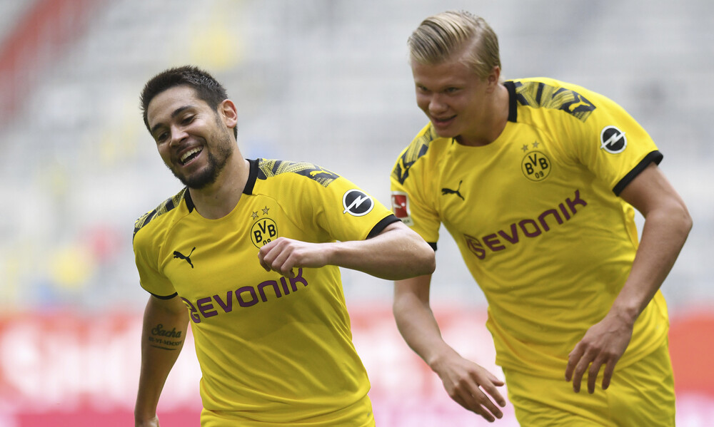 Bundesliga: Ζωντανή με Χάαλαντ η Ντόρτμουντ (videos)