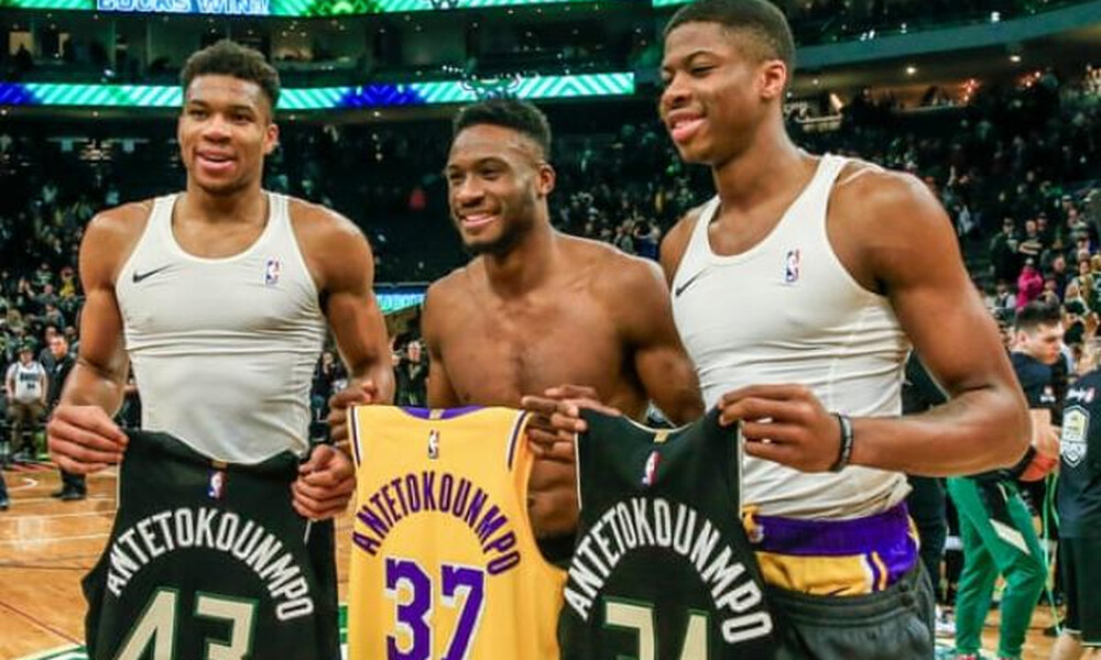 NBA: Οι Μπακς θυμήθηκαν την ιστορική συνάντηση των αδερφών Αντετοκούνμπο
