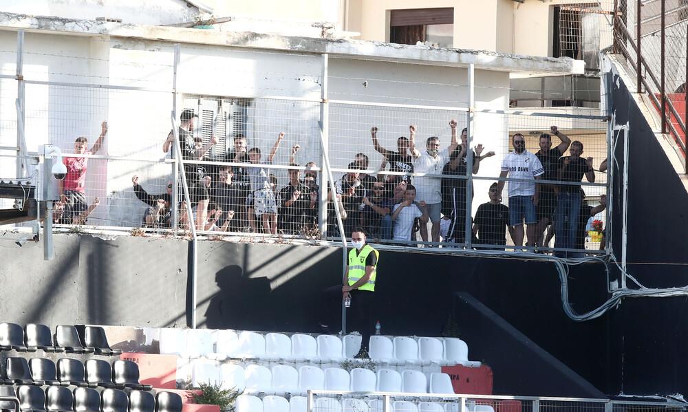 ΟΦΗ-ΑΕΚ: Σε μπαλκόνια και ταράτσες, καυτό το «Γεντί Κουλέ»! (video+photos)