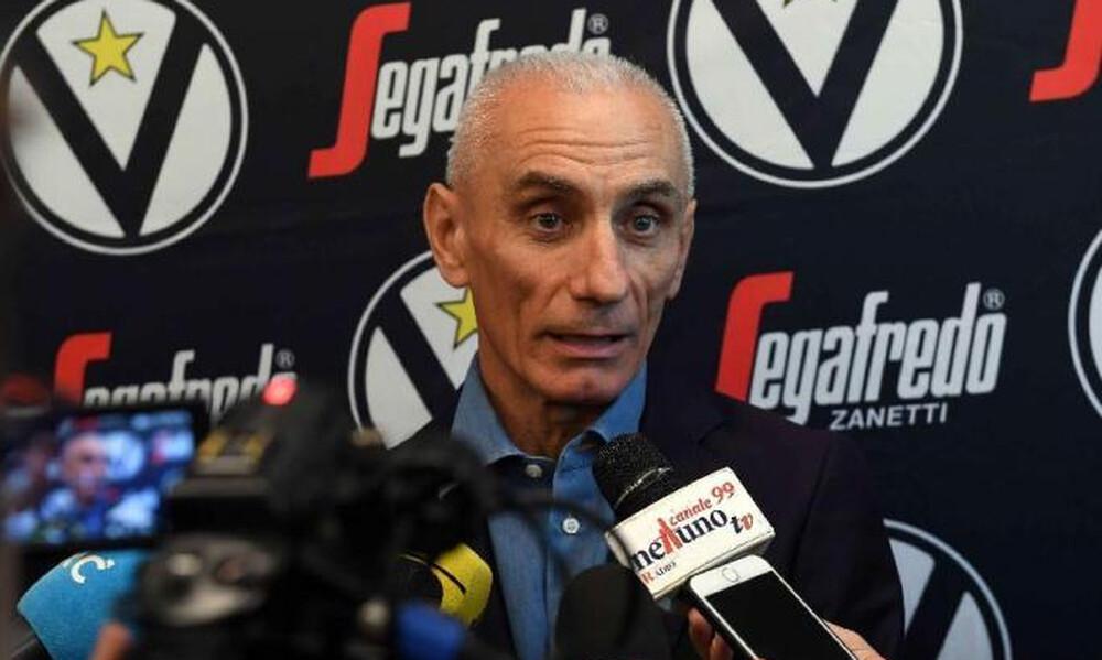 Βίρτους: «Θέλουμε Euroleague αν προκύψει κενή θέση»