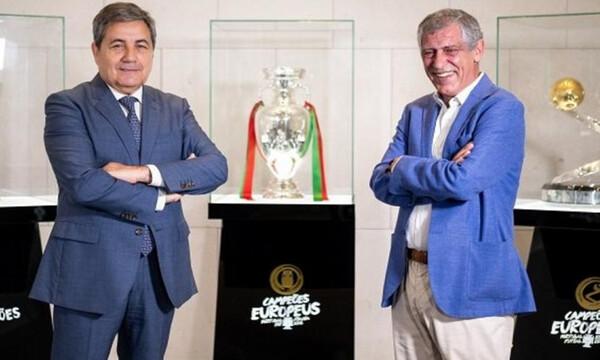Επίσημο: Στον πάγκο της Πορτογαλίας μέχρι το 2024 ο Φερνάντο Σάντος (video)