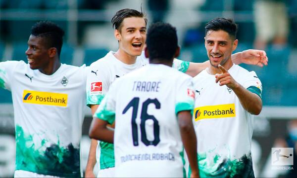Bundesliga: Γκλάντμπαχ για… σεντόνι (video)