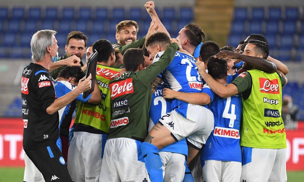 Κυπελλούχος Ιταλίας η Νάπολι, «ξέρανε» στα πέναλτι τη Γιουβέντους! (photos&video)