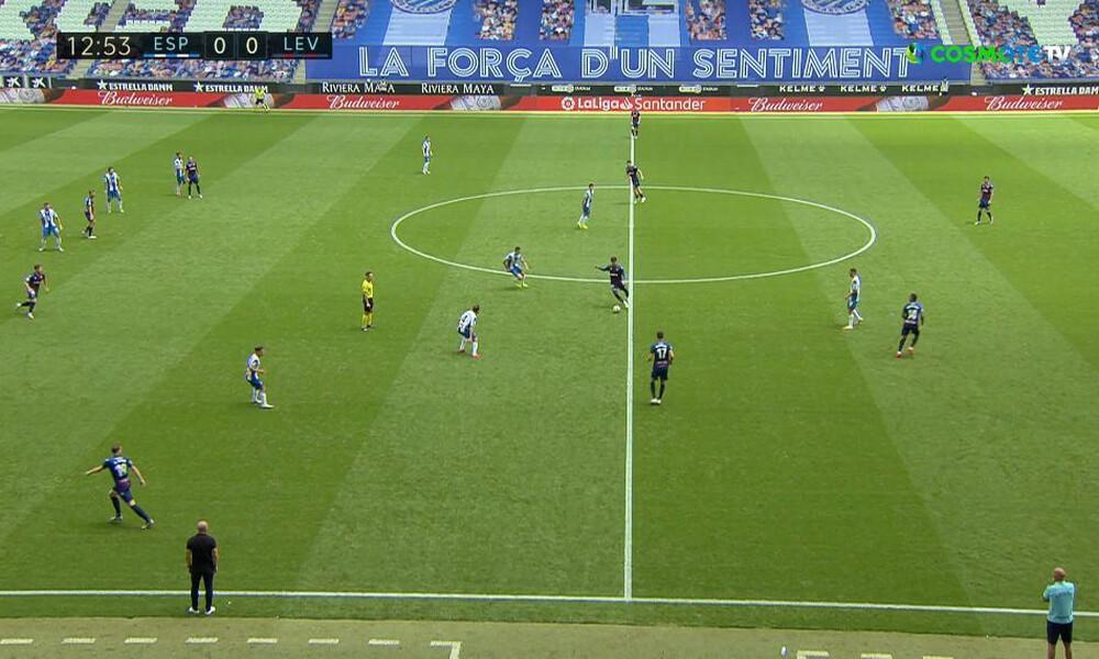La Liga: Η Λεβάντε κράτησε στον βυθό την Εσπανιόλ (video+photos)