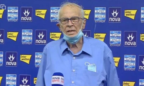 Σάββας Θεοδωρίδης: «Αναμενόμενη η νίκη με Παναθηναϊκό, σερνόταν στο γήπεδο»