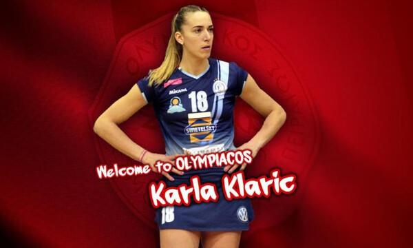 Κλάριτς η αντικαταστάτρια της Λαζάρεβιτς στον Ολυμπιακό