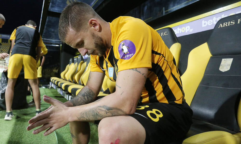 Σάσα: «Σαν μια γροθιά που μας έριξε νοκ άουτ το γκολ του Λιβάγια» (photos)