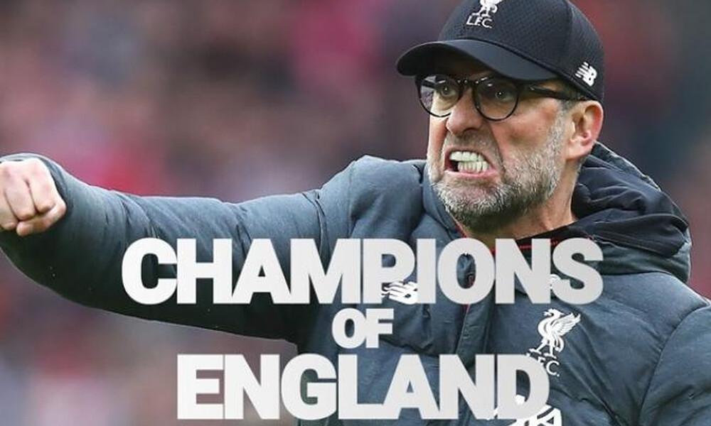 Λίβερπουλ: «Πείτε το στον κόσμο, είμαστε οι πρωταθλητές Αγγλίας» (video)